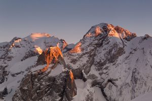 Marmolada Sunset