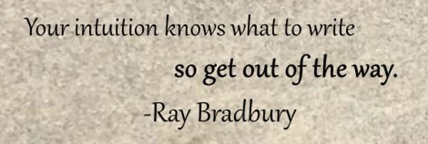 BradburyIntuitionQuote